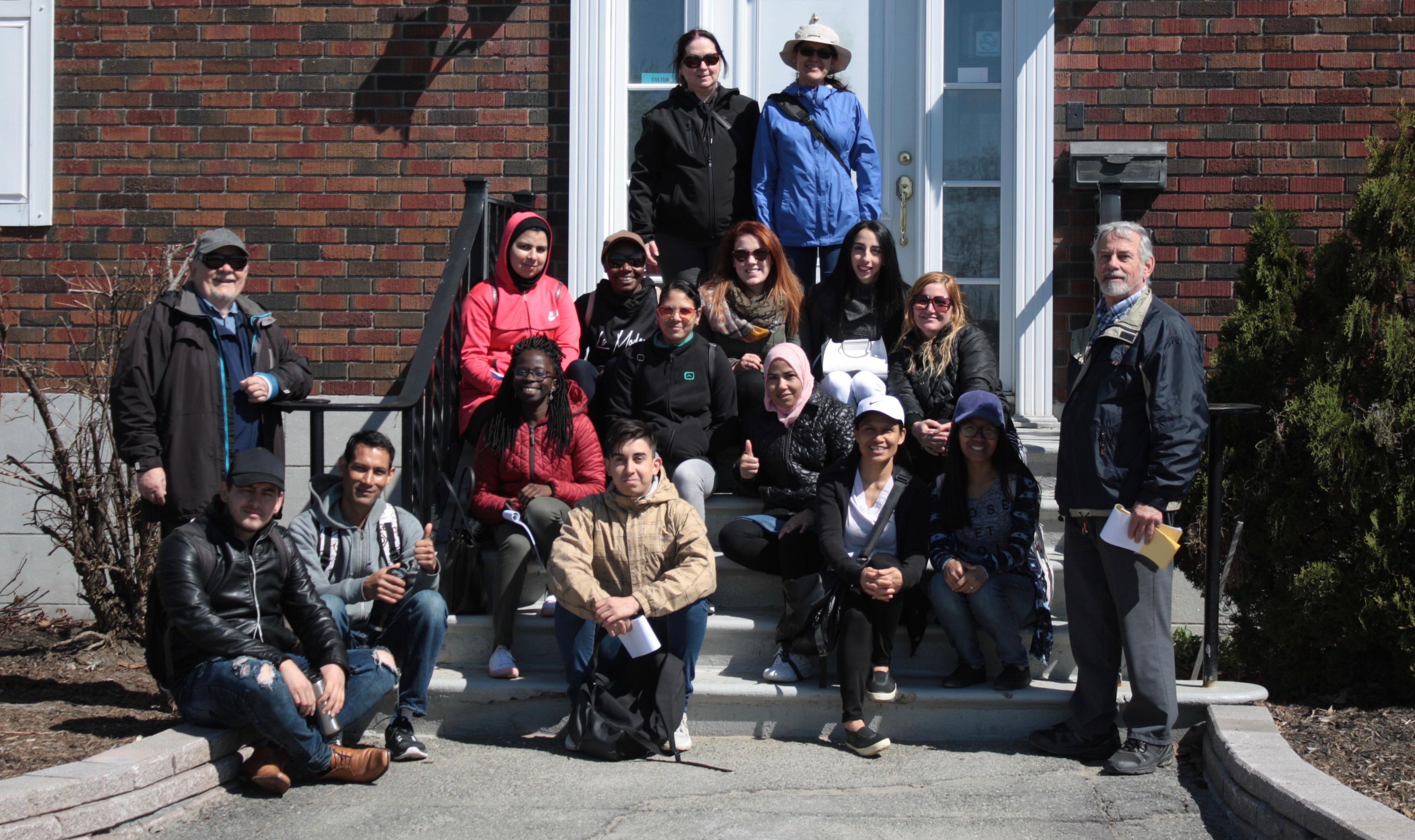 Groupe formateurs et participants